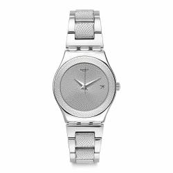 Swatch 金屬系列 CLASSY SILVER 金屬-典雅銀 -33mm