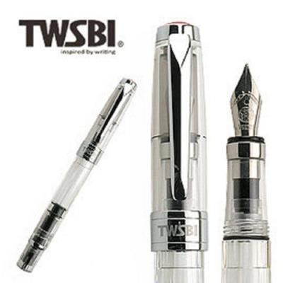 台灣三文堂鋼筆 鑽石 580 透明 M