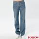 BOBSON 男款寬版嘻哈牛仔褲 product thumbnail 1