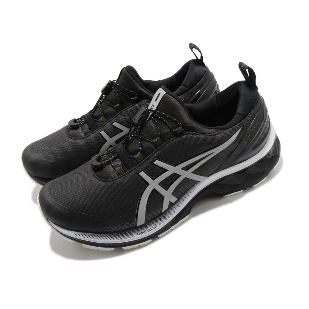 Asics 慢跑鞋 Gel Kayano 27 AWL 男鞋 亞瑟士 高支撐 耐磨 抗撕裂 防潑水 黑 銀 1011A886020