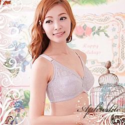 內衣 爾雅無鋼圈舒適款CD罩杯內衣灰(2件)嫚黎紗