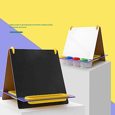 經典木玩 桌上式兒童雙面黑白畫板(兒童畫板)(36m+)