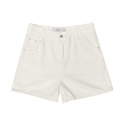 白牛仔短褲 TATA-(S~L)