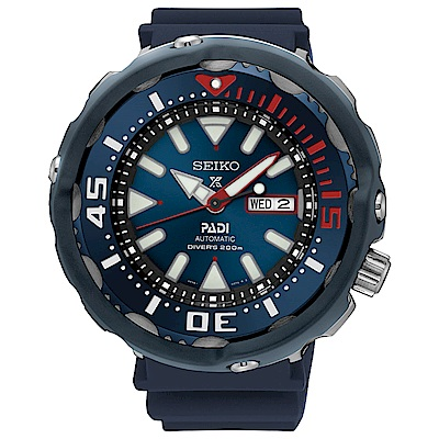 SEIKO精工Prospex PADI可樂鮪魚罐頭潛水機械錶(SRPA83J1)