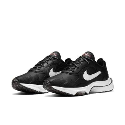 Nike 休閒鞋 Air Zoom Division 女鞋 氣墊 舒適 避震 簡約 球鞋 穿搭 黑 白 CZ3753001