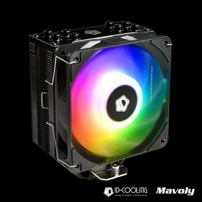 ID-COOLING 自帶控制器 SE-224-XT ARGB 高效CPU散熱風扇