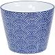《Tokyo Design》瓷製茶杯(點扇藍170ml) product thumbnail 1