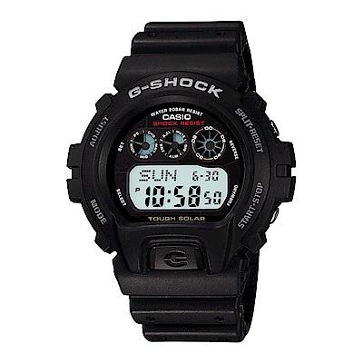 G-SHOCK 經典潮流再進化太陽能膠帶錶(G-6900-1)-黑/50mm