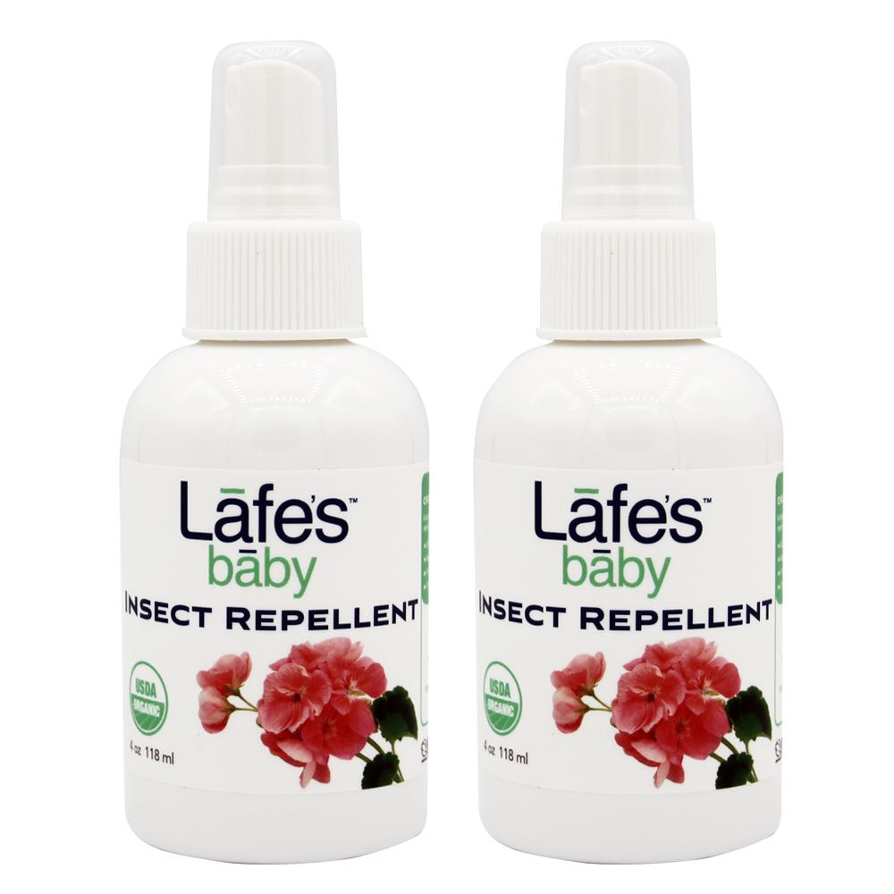 Lafe s organic 有機嬰兒防蚊液x2