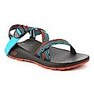 美國Chaco女越野舒壓運動涼鞋-標準款CH-ZLW01HF03(瞬光藍綠)