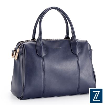 74盎司 Fashion波士頓雙層兩用包[LG-926-FA-W]藍