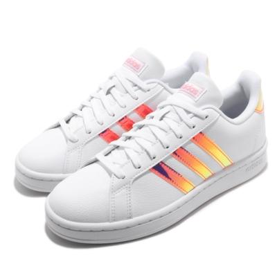 adidas 休閒鞋 Grand Court 復古 低筒 女鞋