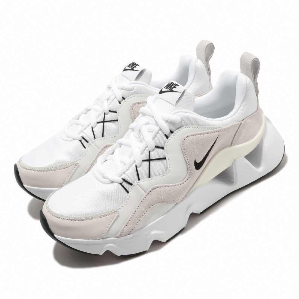 Nike 休閒鞋 W RYZ 365 孫芸芸 女鞋 厚底 鏤空 老爹鞋 網美穿搭 球鞋 白 BQ4153100