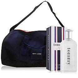 Tommy Hilfiger Tommy Boy 噴式香水100ml+海軍藍兩用旅行包