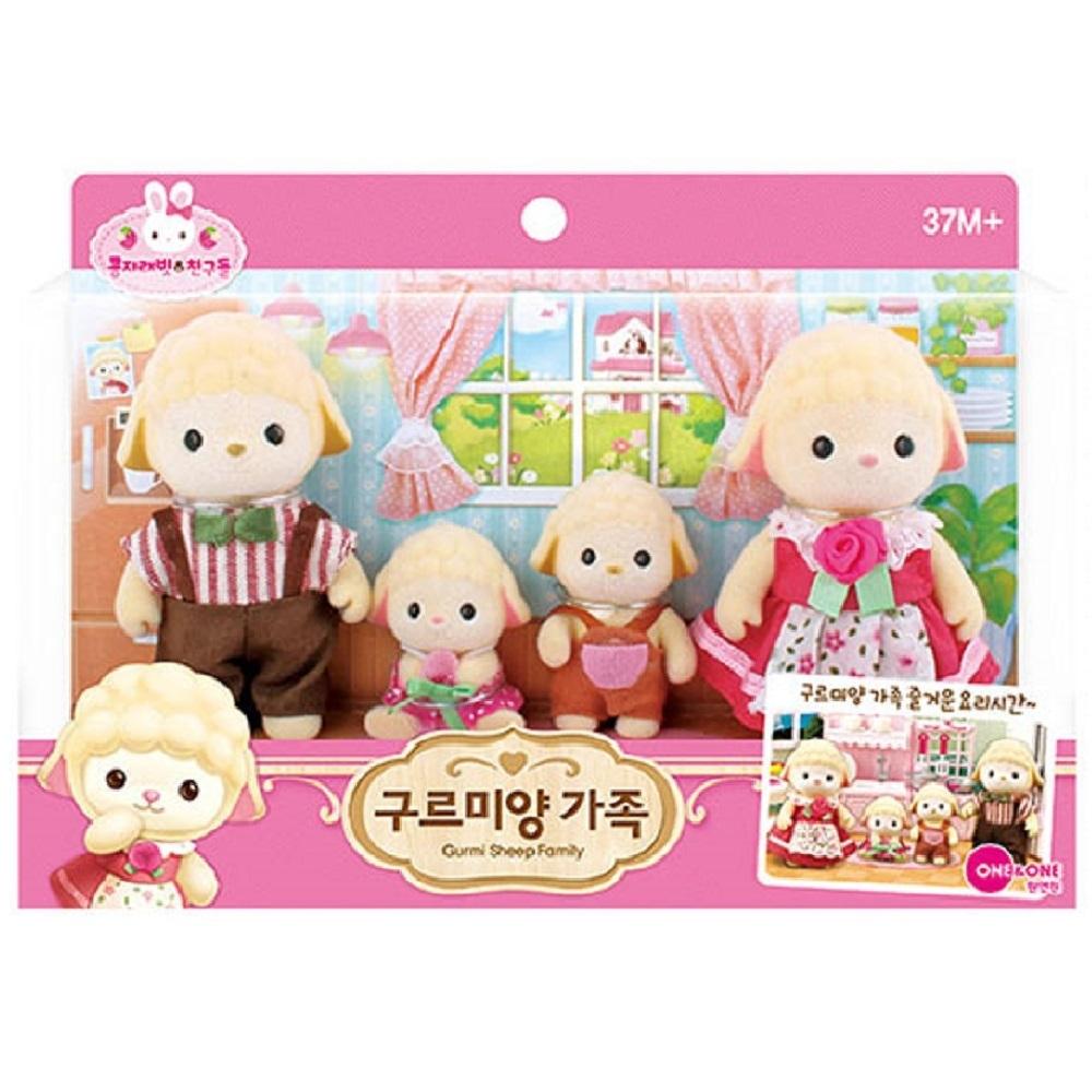 韓國 動物公仔 兔寶家族  - 小羊 GURMI一家人