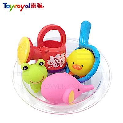 【任選】日本《樂雅 Toyroyal》洗澡玩具-澆水器洗澡組