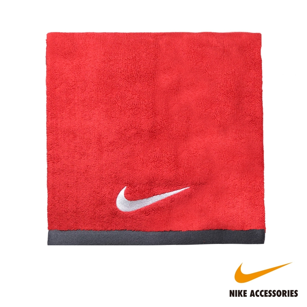 NIKE耐吉 FUNDAMENTAL TOWEL 大浴巾-紅色