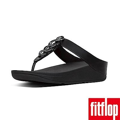 FitFlop FINO 夾腳涼鞋 黑色