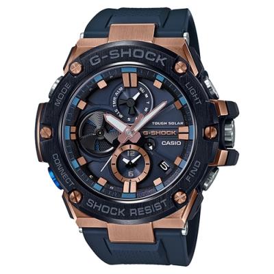 G-SHOCK 太陽能渦輪葉片設計智慧藍牙錶(GST-B100G-2A)-53.8mm