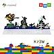 福利品-i-Rocks-K23W-趣味積木鍵盤-白