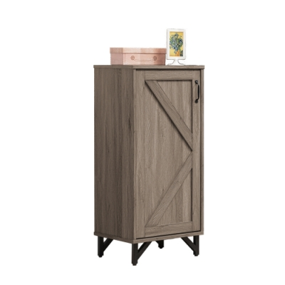 Bernice-約翰1.6尺工業風單門鞋櫃/收納置物櫃-49x40x109cm