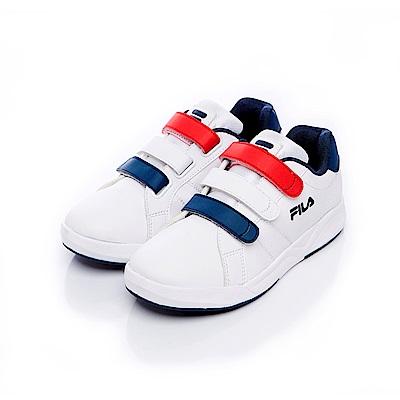 FILA KIDS 大童運動滑板鞋-丈青 3-C813S-123