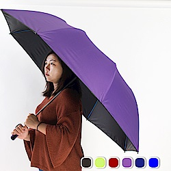 雙龍TDN 大王傘 超撥水降溫晴雨傘-神秘紫