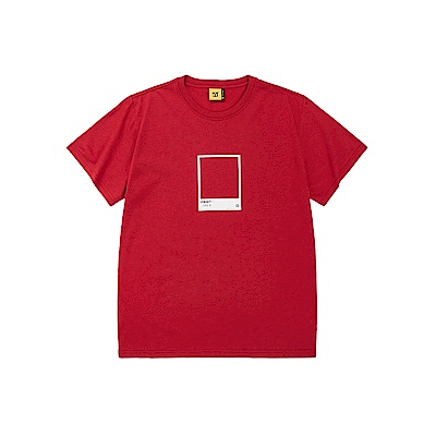 CACO-MIT色票框短T-男【SCA040】