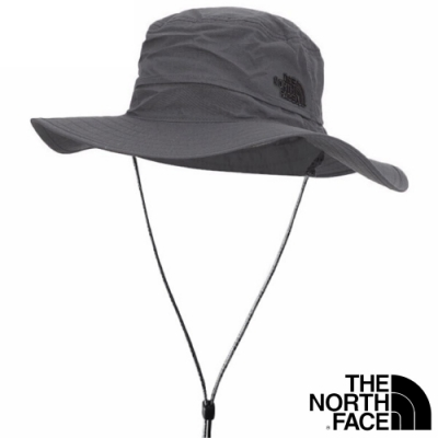 The North Face HORIZON BREEZE BRIMMER 透氣耐磨抗UV遮陽帽_深灰 N
