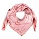 HERMES  Faune Lettree動物字母披肩方型絲巾-粉色 product thumbnail 1