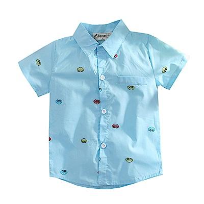 車子印花短袖襯衫 k50670 魔法Baby