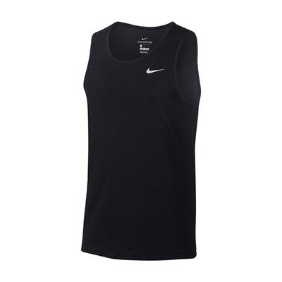 Nike 背心 Training Tank 運動休閒 男款 Dri-FIT 吸濕排汗 快乾 健身 重訓 黑白 AR6070010
