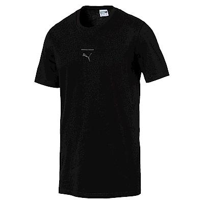 PUMA-男性流行系列Pace短袖T恤-黑色-亞規