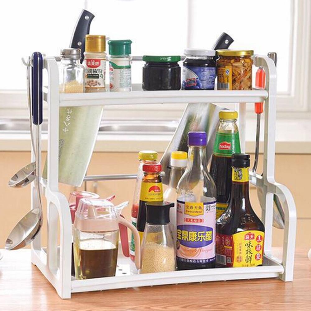 【E.dot】多功能雙層廚房萬用置物收納架