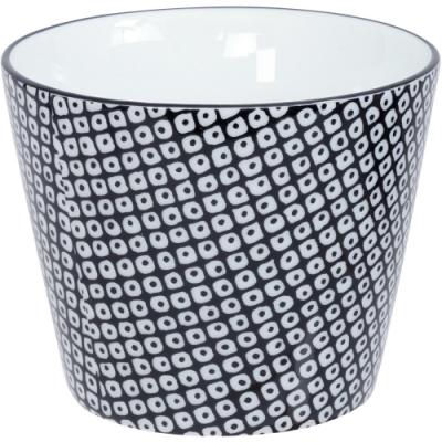 《Tokyo Design》瓷製茶杯(網紋黑170ml)
