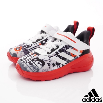 adidas童鞋 米奇聯名運動鞋 FO257紅白(寶寶段)