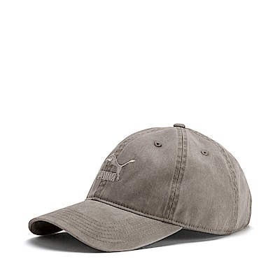 PUMA-男女流行系列棒球帽-大地棕