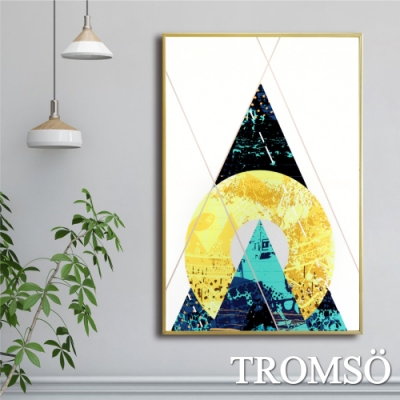 TROMSO北歐時代風尚有框畫-山嵐日昇WA117