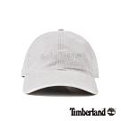 Timberland 中性金屬灰休閒帆布棒球帽 A1E9I