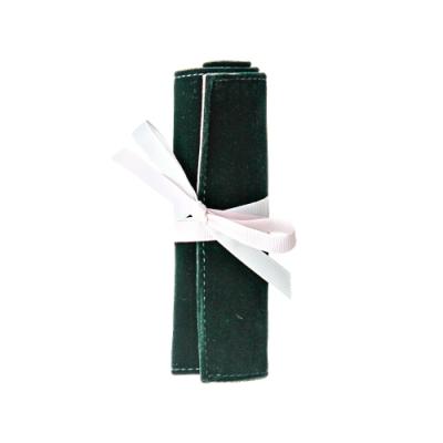 Caroline Gardner 捲式旅行飾品收納袋(小)夜幕綠