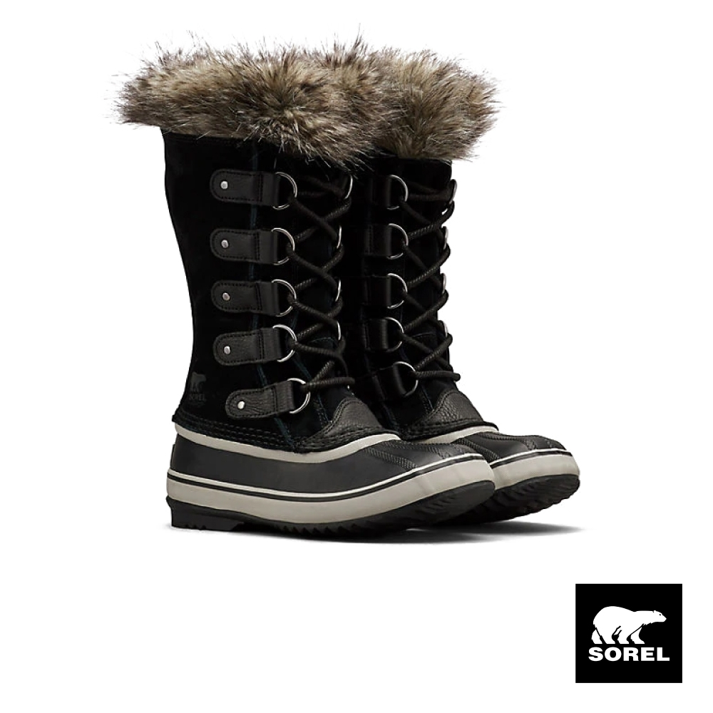 SOREL-JOAN女款運動長靴-黑色