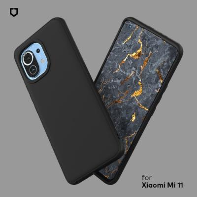 犀牛盾 Xiaomi小米 Mi11 SolidSuit防摔背蓋手機殼-碳纖維紋路