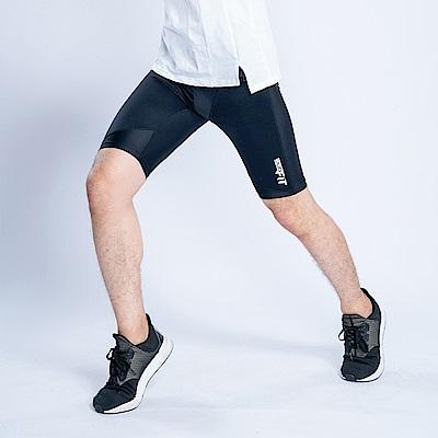 clubFIT耐力提升壓力五分褲-男款