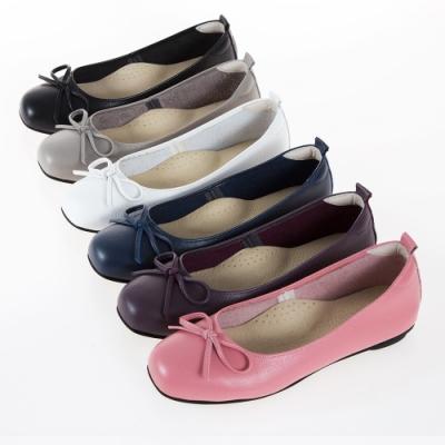[時時樂限定]G.Ms. MIT台灣制全真皮通勤娃娃鞋多款選