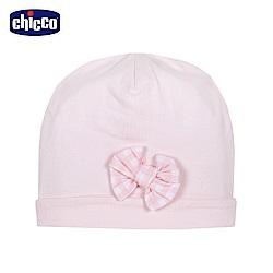 chicco-甜心粉-嬰兒帽