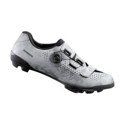 【SHIMANO】RX800 碳纖維複合 GRAVEL 車鞋 銀色