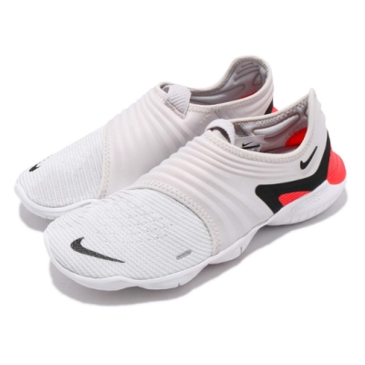 Nike 慢跑鞋 Free RN Flyknit  赤足 路跑 透氣 舒適 健身 襪套 運動 灰 黑 男鞋
