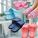 Conalife 超柔軟浴室防滑摺疊拖鞋男女款-顏色隨機(2雙)