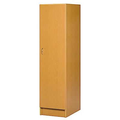 文創集 艾倫環保1.6尺塑鋼單吊衣櫃/收納櫃(左門櫃)-47x61.5x180cm-免組
