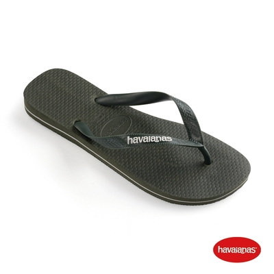 Havaianas哈瓦仕 拖鞋 夾腳拖 人字拖  巴西 男鞋 橄欖綠 4108555-4896M Top Logo Filete